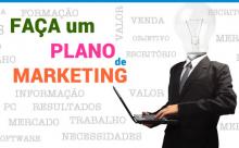 Faça um Plano de Marketing!